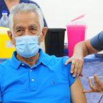 El Gobernador Alberto Rodríguez Saá recibió la primera dosis de la vacuna Sputnik V